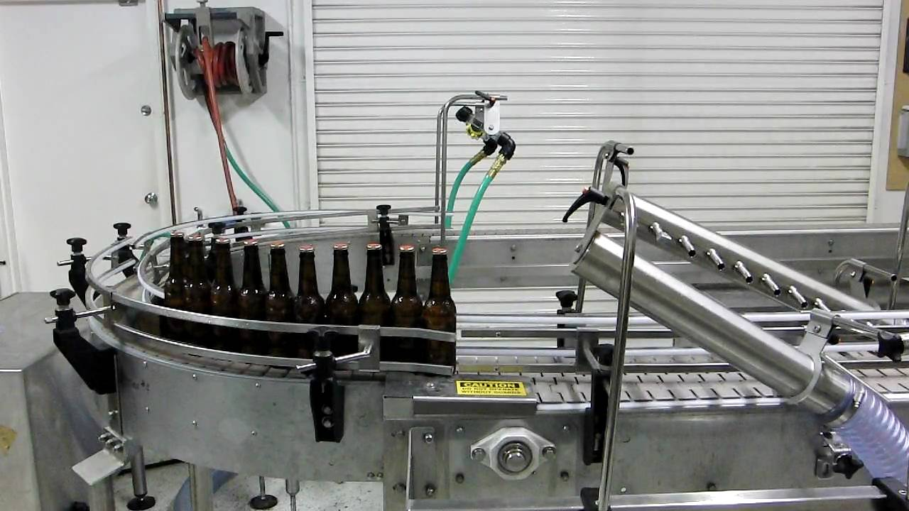Air Knife Blower Systems : Air knife system beer bottle drying youtube
