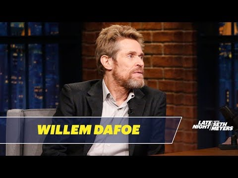 Willem Dafoe Gets Mistaken for Mick Jagger