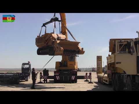 Տեսանյութ.Հզոր թափով է Թուրքիան օգնում Ադրբեջանին՝առաջադեմ ինժեներական տեխնիկա, սարքավորումներ