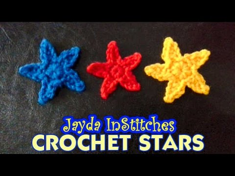 Crochet a Star - Mini Pattern Tutorial - YouTube