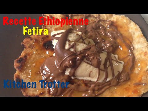 Fetira recette de dessert ethiopien - Test Kitchen Trotter