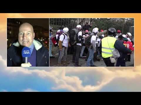 France: violent 'Yellow Vest' protests in Week 13 | #GME