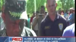 En Valverde un menor de edad es encontrado muerto de un disparo en la cabeza