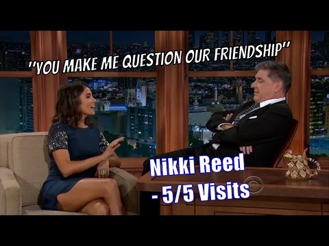 Nikki Reed - Ferguson Pscyhoanalyzes Her - 5/5 Appearances In Chron. Order [1080]