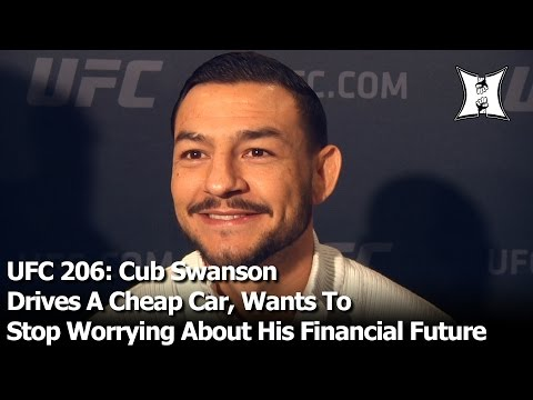 UFC 206: Cub Swanson Drives A Cheap Car, Wants To Stop Worrying About His Financial Future