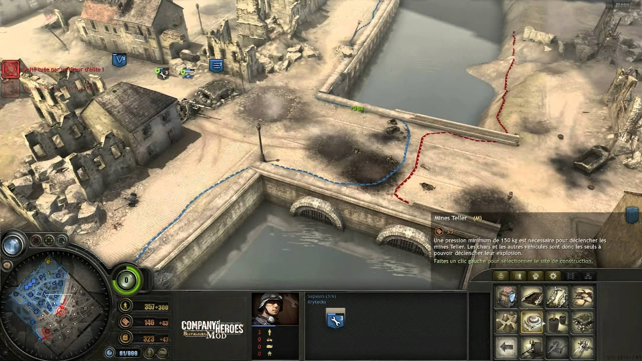 Company Of Heroes Annihilation 2 Vs 2 Partie 1 2 Youtube