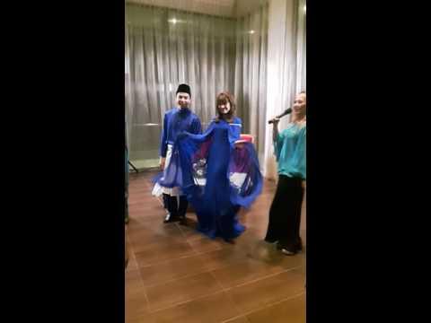 Amyra Rosli & Amar Baharin menari lagu Kuch Kuch Ho Ta Hai