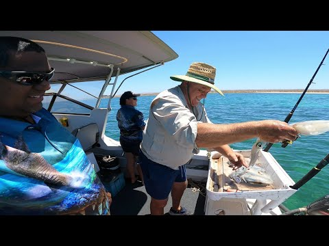 Yawuru Lifestyle Episode 22 - SQUID FISHING AND EMUS During Our Holiday To Exmouth
