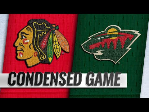 02/02/19 Condensed Game: Blackhawks @ Wild