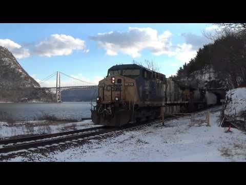 Railfanning the Hudson River Valley 1/9/2015