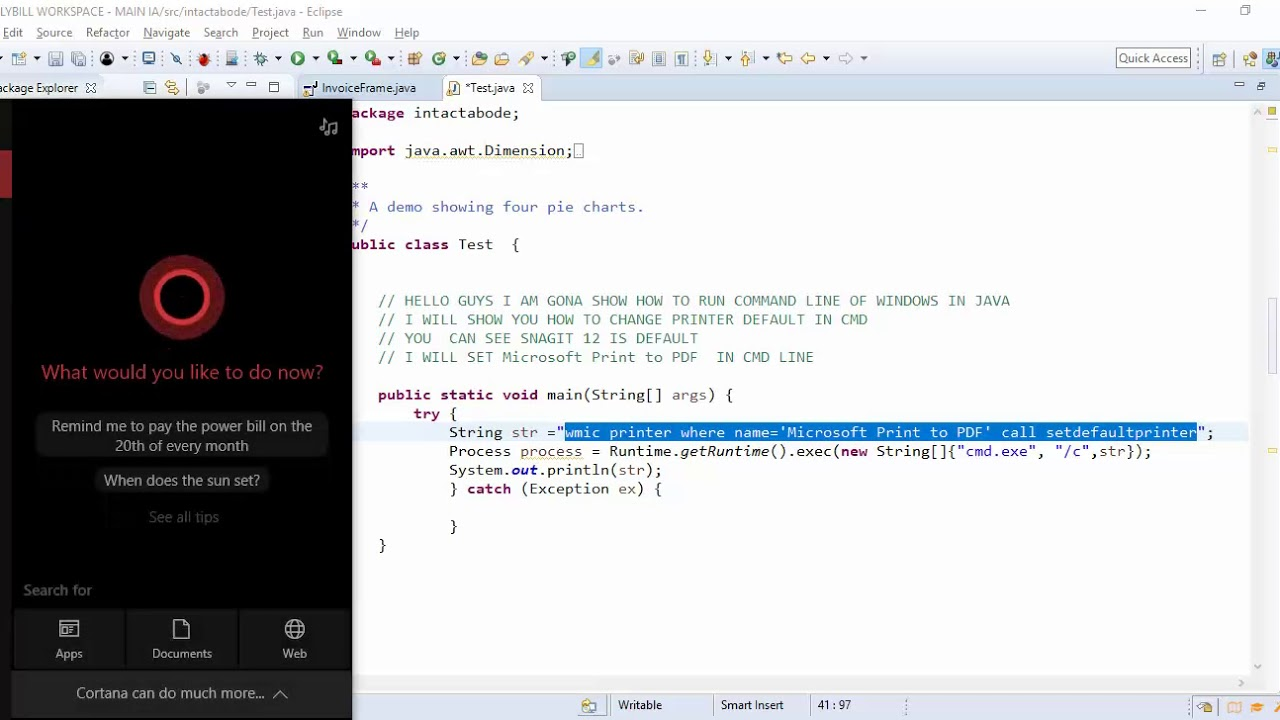 How to Execute Windows Commands Using Java