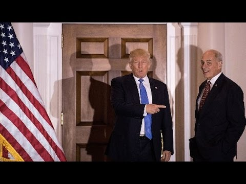 Trump Nominee for Homeland Security John Kelley Favors Draconian Immigration Policy