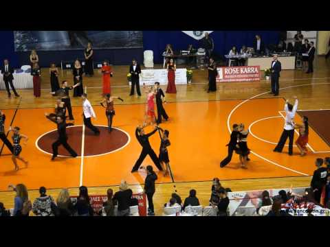 Athens DanceSport Open 2015: Adults: IDSA Europeran Cup Latin: SemiFinal