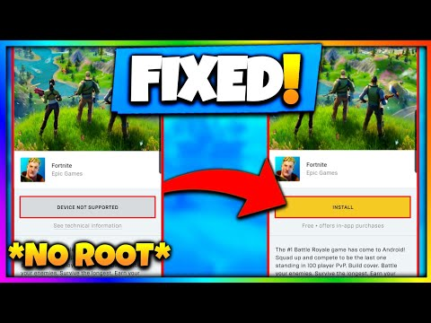 FORTNITE DEVICE NOT SUPPORTED FIX | FORTNITE CHAPTER 2
