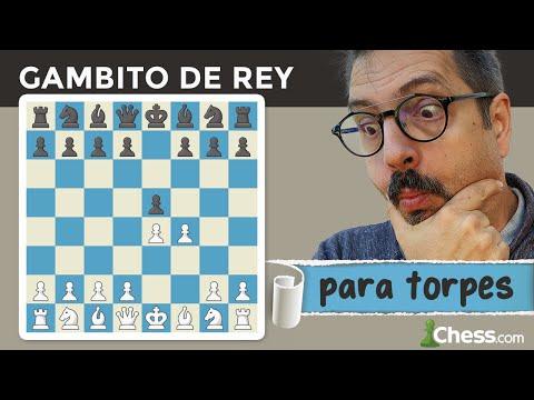 GAMBITO de REY para TORPES | Aperturas de ajedrez para dummies