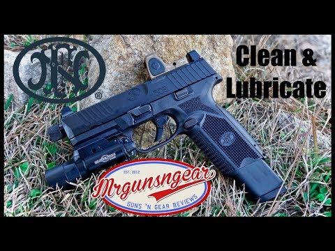 How To Clean & Lubricate A FN 509 Handgun