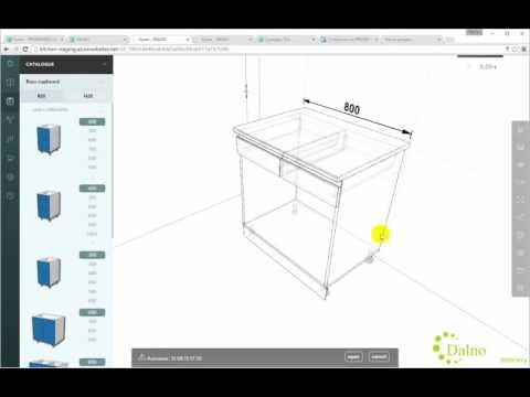 Конструктор кухни онлайн - самостоятельно нарисуйте свою кухню