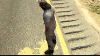 Trevor Piss without Penis Gta5 funny