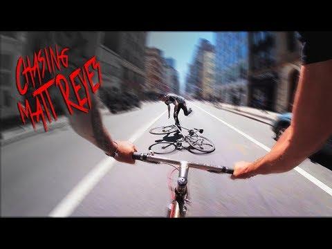 Chasing Matt Reyes Down Broadway
