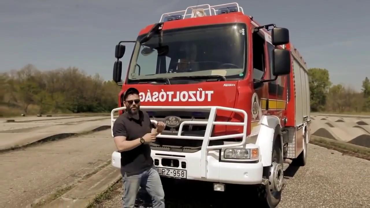 Rába Aquadux X4  tűzoltóautó -  2016.