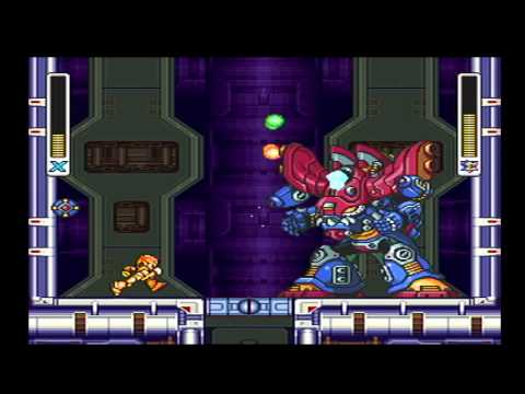 Mega Man X3 - Part 6 : Zero shops at the convenience store to fix a broken wall