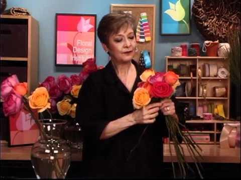 A Garden Rose Bridal Bouquet Youtube