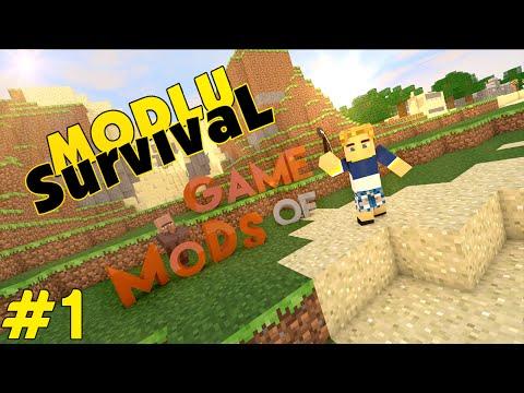 Minecraft Game Of Mods - Kurtadam - Bölüm 1