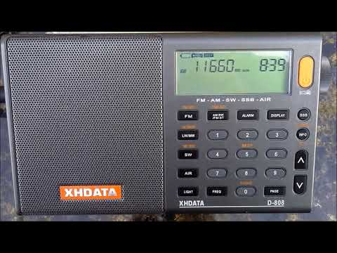 CNR 2 China Business Radio from China to China on 11660 KHz