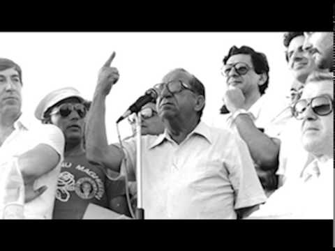 Dom Mintoff - Maltese Leader of the Labour Party from 1949 to 1984