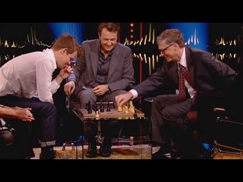 Bill Gates vs. Best Chess Player in the World (Magnus Carlsen)