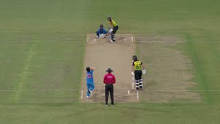 Best bowled dismissals from the Women's T20 World Cup 2020