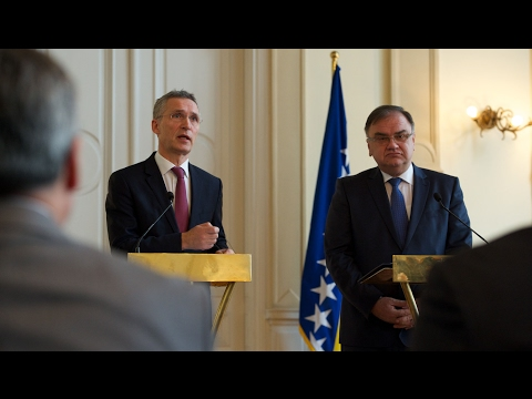 NATO SG with Chairman of the Tri-Presidency of Bosnia and Herzegovina, 02 FEB 2017, 1/2