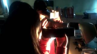 백봉초 6학년 과학바늘구멍사진기 관찰.3gp