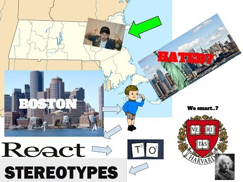 BOSTON BOY REACTS TO MA STATE STEREOTYPES