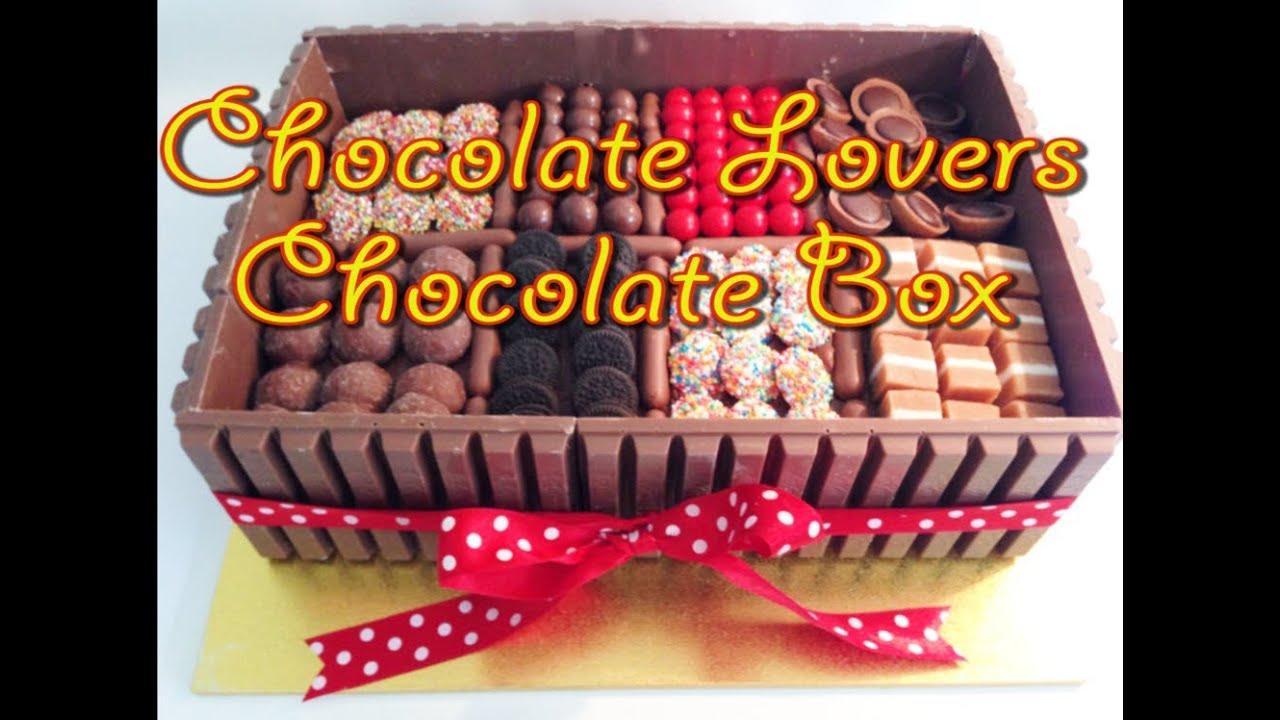 Chocolate cake boxes