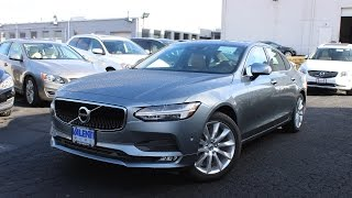 2017 Volvo S90 T6 Momentum: In Depth First Person Look