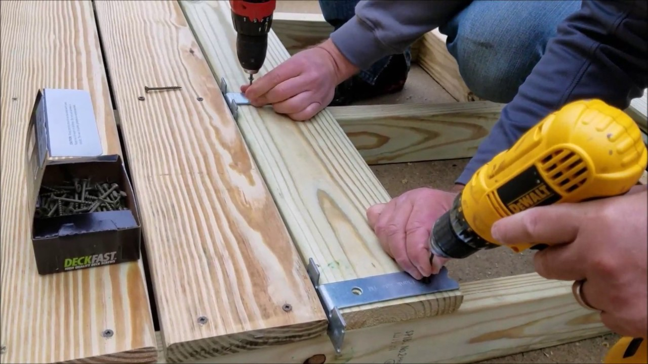 Deck Board Installation Tool ~ Plank rite decking tool instructions youtube