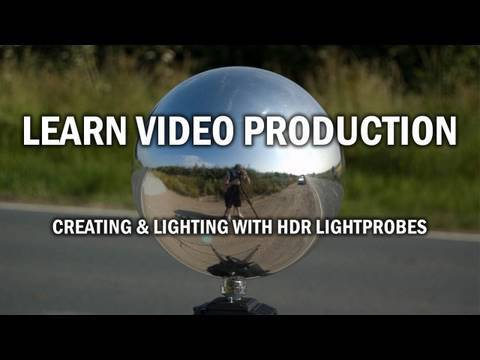Creating and Lighting with HDR Lightprobes Tutorial.