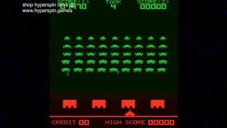 Hyperspin Version 1.5.1 Systems 16TB Hard Drive and Space Invaders MAME Arcade Games