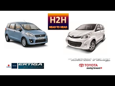 H2h 17 Toyota Avanza Veloz Vs Suzuki Ertiga Youtube