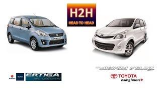 H2H #17 Toyota Avanza Veloz vs Suzuki Ertiga