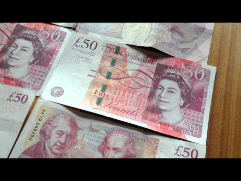 Pound Sterling UK Currency