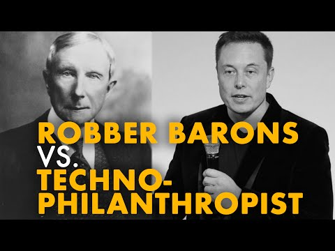 Robber Barons vs. Technophilanthropists   ABUNDANCE