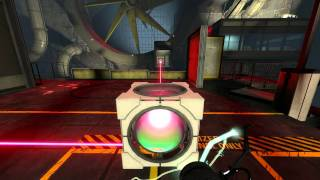 Portal 2 Co-op: Course 2, Chamber 8