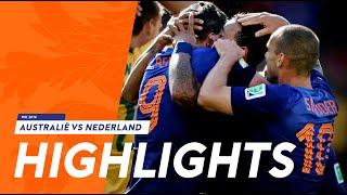 Samenvatting Australië-Nederland (2-3), WK 2014
