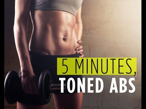 Quick Workout: The 5-Minute No Crunches Workout for Incredible Abs from Women's Health