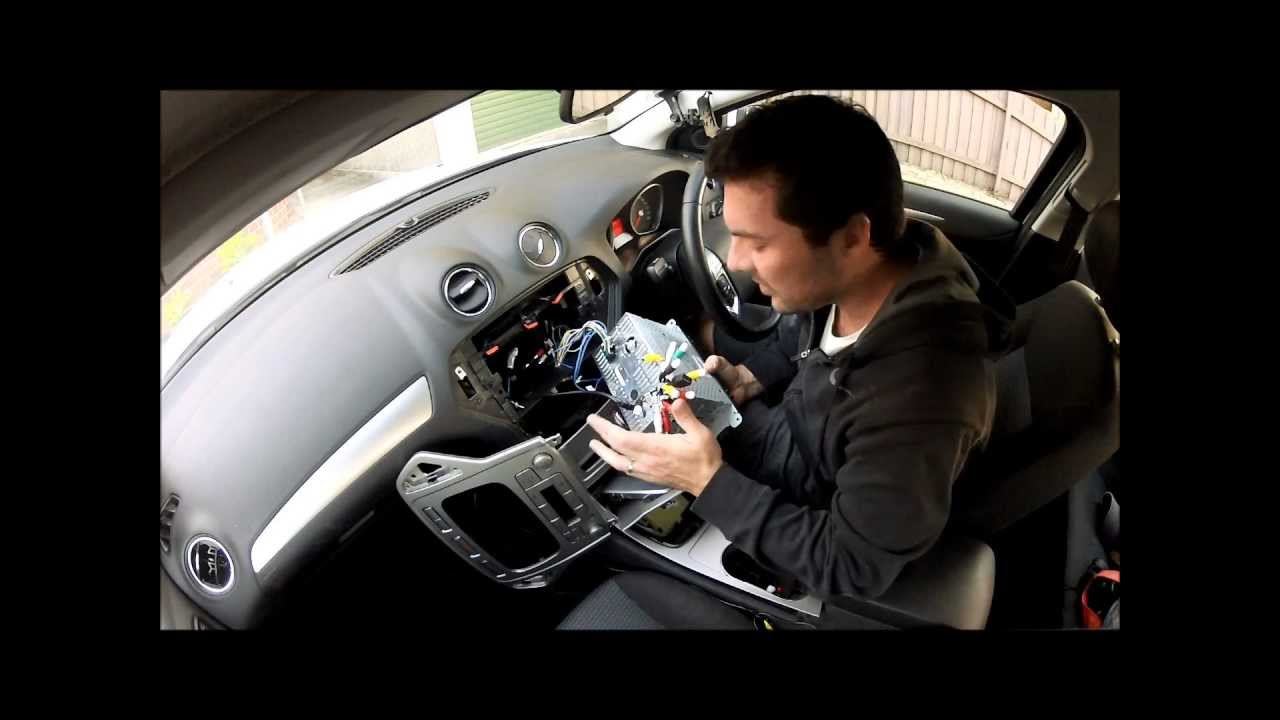 Cigarette Lighter Wiring Diagram For Dash Deconstruct Dashboard Of A Ford Mondeo 2008 Youtube