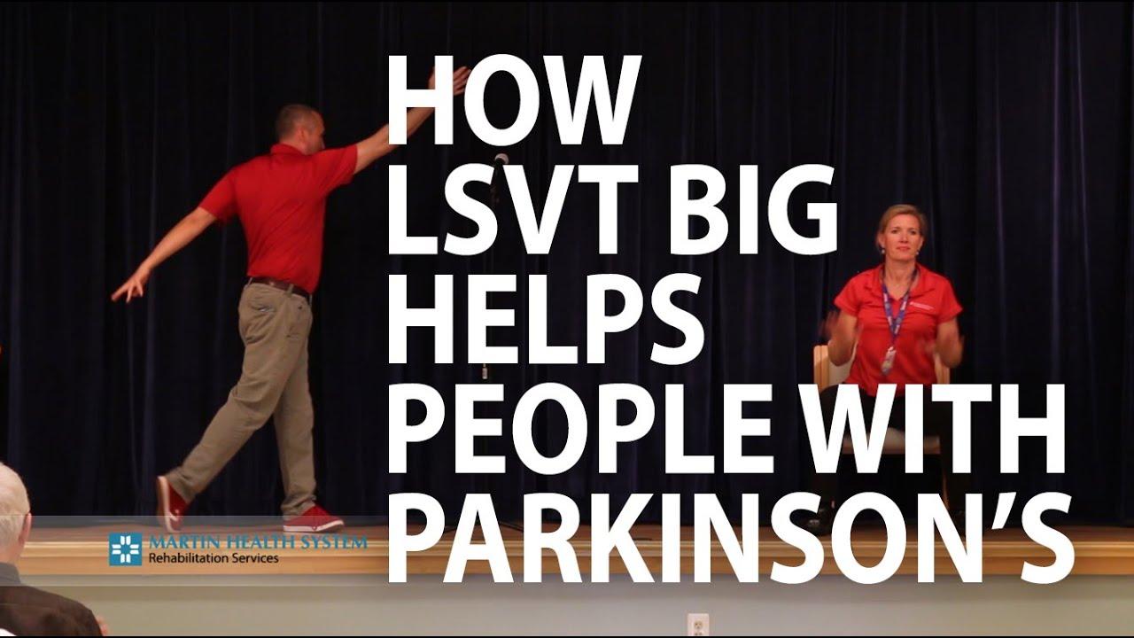 Demonstration How To Do Lsvt Big Exercises Youtube