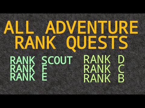 All ADVENTURE RANK QUESTS of Ragnarok M: Eternal Love