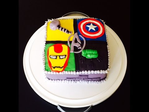 AVENGERS CAKE A BAKERS OBSESSION YouTube